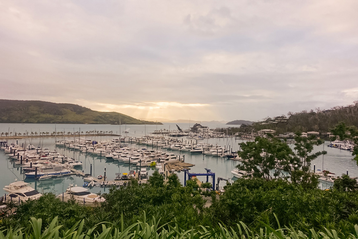 Hamilton Island in the Whitsundays Queensland